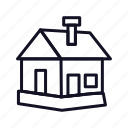 construction, home, house, office, out, room, ut-house icon