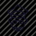 avatar, head, people, person, policeman, policeman-head, profile icon
