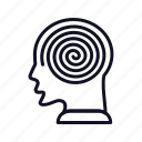 design, genetics, headspirl, helix, spiral, spirals, structure icon