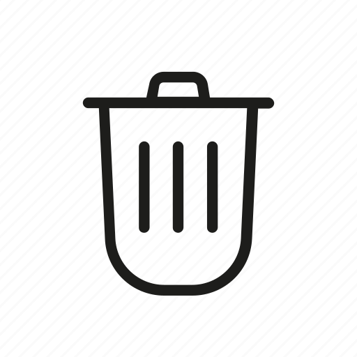 Bin, cancel, close, delete, recycle, remove, trash icon - Download on Iconfinder