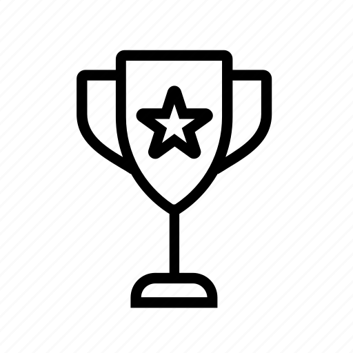 achievement, award, favorite, prize, star, trophy, winner icon