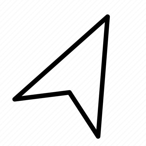 arrow, draw, hand, line, send, up icon