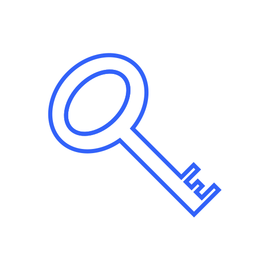 Key, lock, private, protect, safe, password, secure icon - Free download