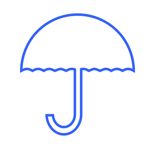 insurance, parasol, protect, protection, safety, secure, umbrella icon