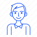 avatar, id, man, people, user icon