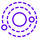 orbit, planet, solxrsystem, space icon