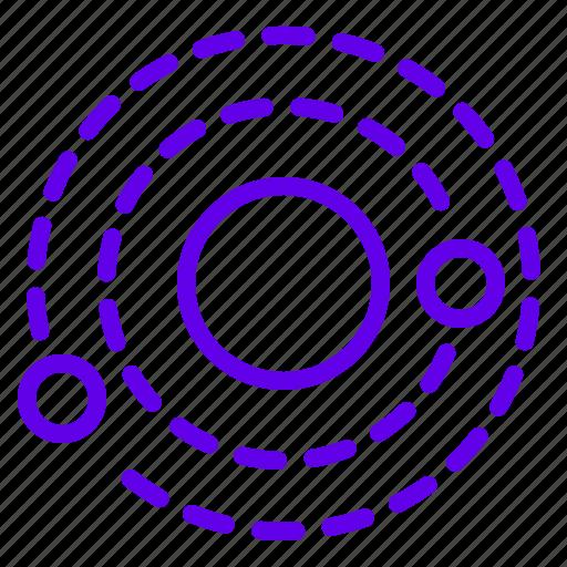orbit, planet, solxrsystem, space icon