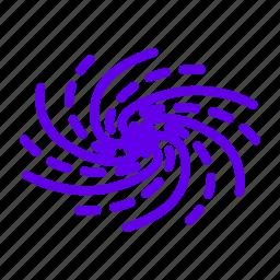 blackhole, galay, milky way, space icon