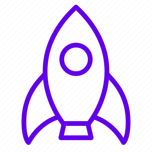 fly, launch, rocket, space icon