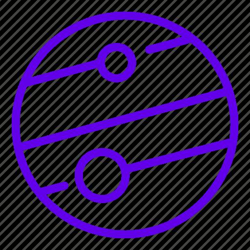 jupiter, mars, planet, space icon