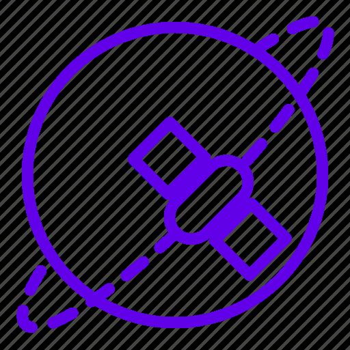 Orbit, planet, satellite, space icon - Download on Iconfinder