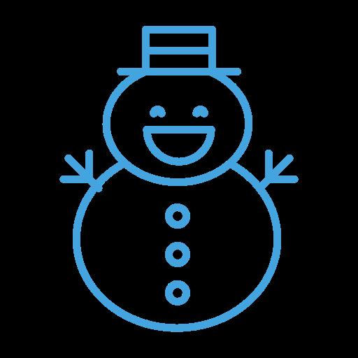 Christmas, man, snow, snowman, winter icon - Free download