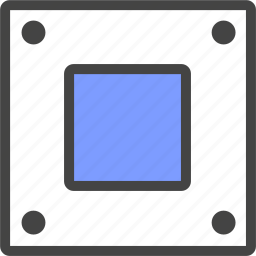 desktop, hard disk, laptop, server icon