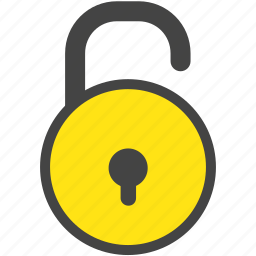 business, computer, lock, log-in, security, unlock icon
