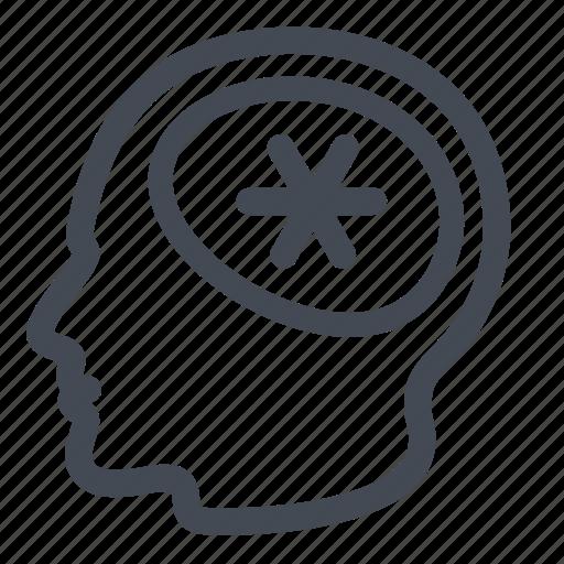 brain, brainstorming, business, intelligence, thinking icon