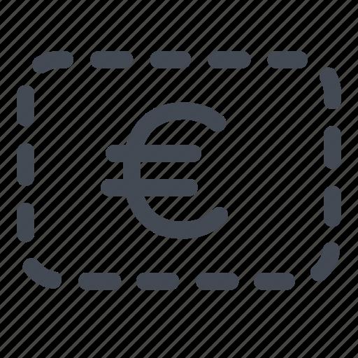 coupon, euro, europe, money icon