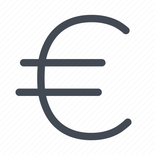 currency, euro, europe, money icon