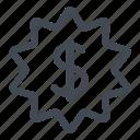 deal, dollar, money, sale, savings icon