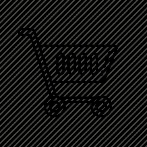 cart, trolley, wheel cart icon