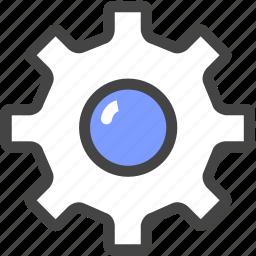 set, set-up, wheel icon