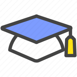 degree, finish, graduate, graduation, school, study icon