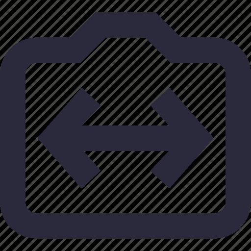 arrows, maximize, measurement, size, width icon