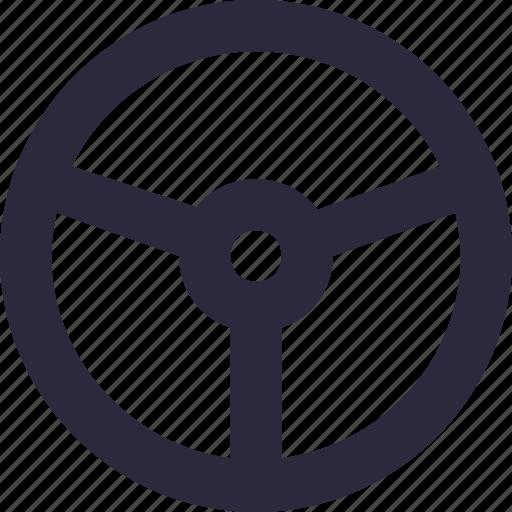 car steering, driving car, driving wheel, steering, wheel steering icon