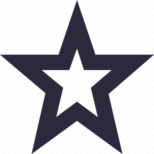 decoration star, favorite, ranking, star, star ornament icon