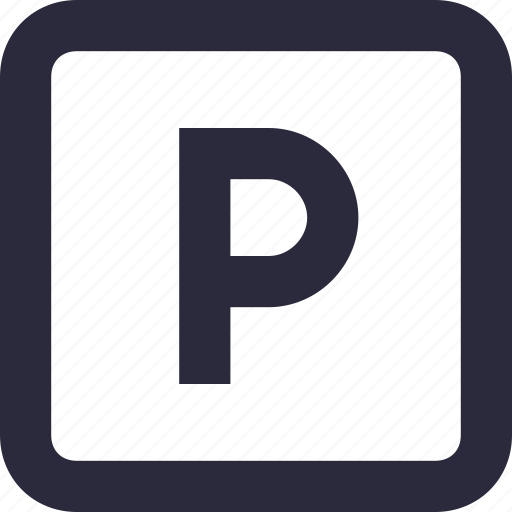 Parking, parking area, parking sign, road sign, traffic sign icon - Download on Iconfinder