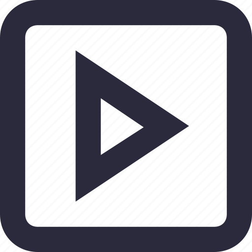 media, multimedia, play button, play video, video player icon