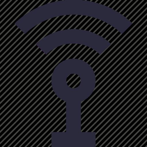 antenna, signal tower, wifi antenna, wifi signals, wifi tower icon
