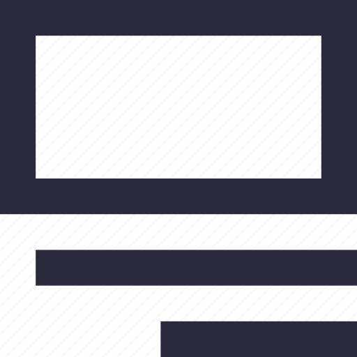 alignment, right align, sorting, text, text lines icon