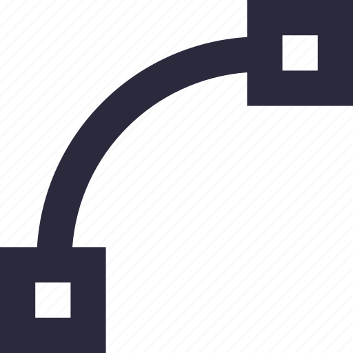 curve, design tool, designing, illustrator tool, photoshop tool icon