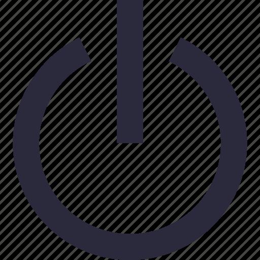 off button, on button, power button, shut down, standby icon