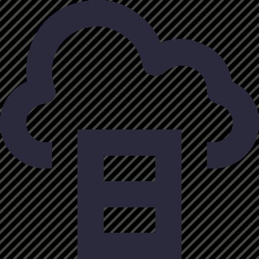 cloud computing, cloud storage, data storage, document, sky docs icon