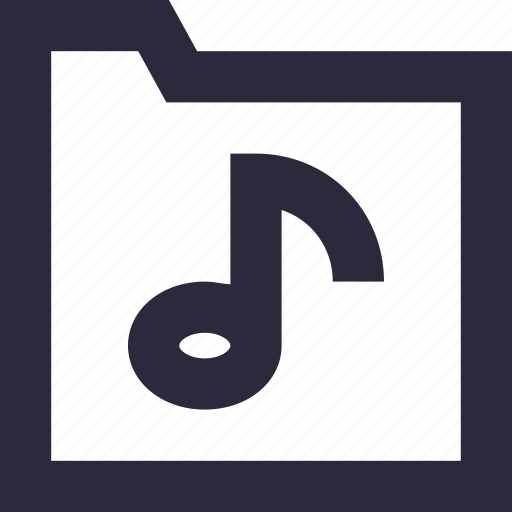 archive, audio, music, songs, songs folder icon