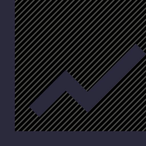 analytics, growth, line chart, line graph, statistics icon