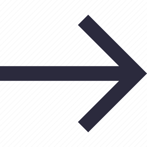 arrow, direction, directional arrow, right arrow, right direction icon