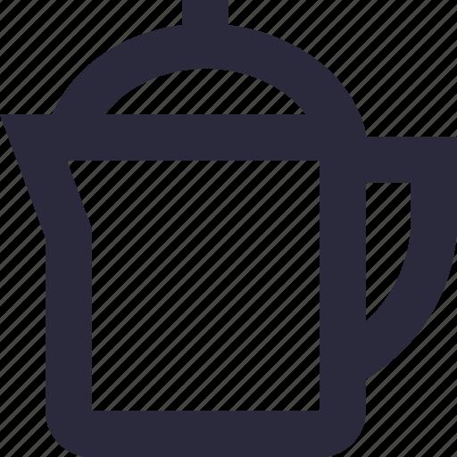 electric kettle, electricals, kitchen appliance, tea kettle, tea maker icon