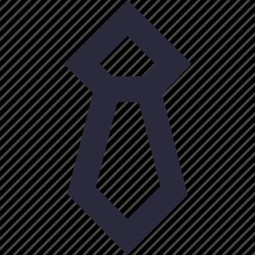 fashion, necktie, neckwear, tie, uniform tie icon