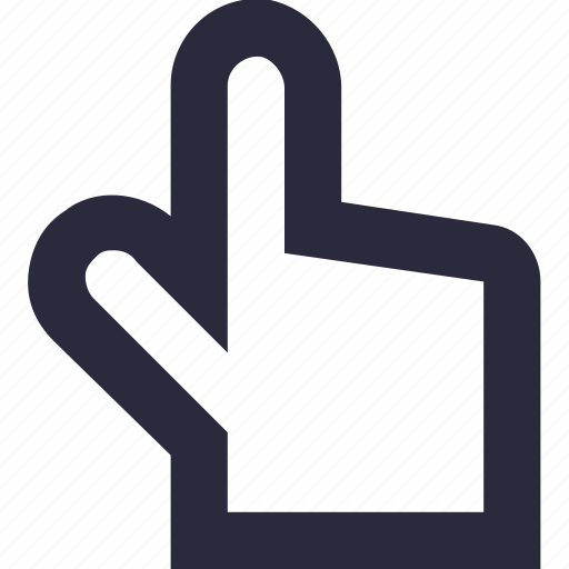 click, cursor, hand gesture, mouse pointer, tap icon