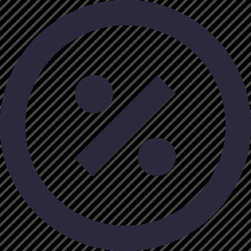 discount, math symbol, percentage, promotion, ratio icon
