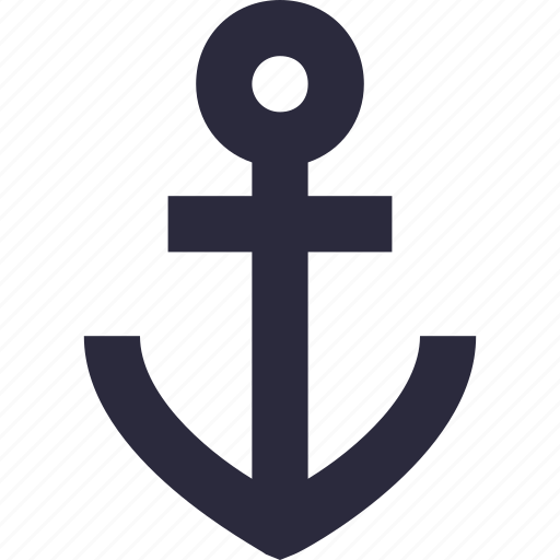 anchor, boat anchor, nautical, sailing boat, ship anchor icon