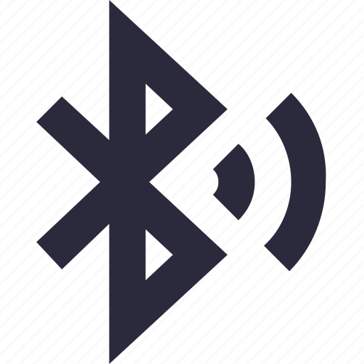 bluetooth, bluetooth on, bluetooth sign, data sharing, wireless connectivity icon