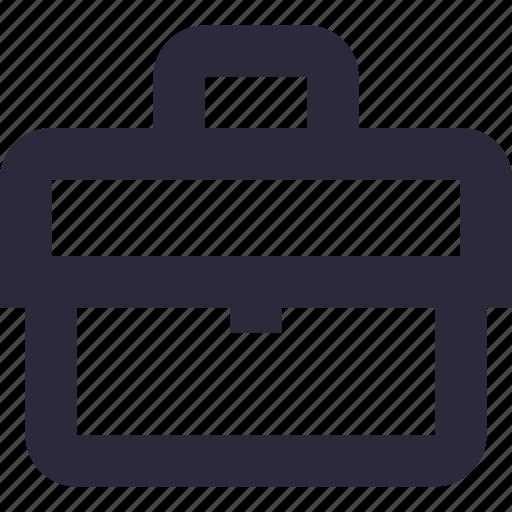 bag, briefcase, business bag, office bag, official bag icon