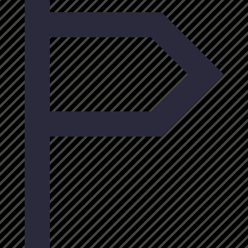 destination flag, emblem, ensign, flag, location flag icon