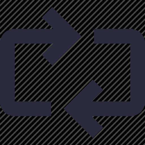 arrows, initializing, loading, refresh, sync icon