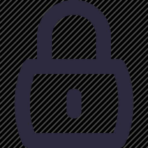 access, locked, padlock, password, security icon