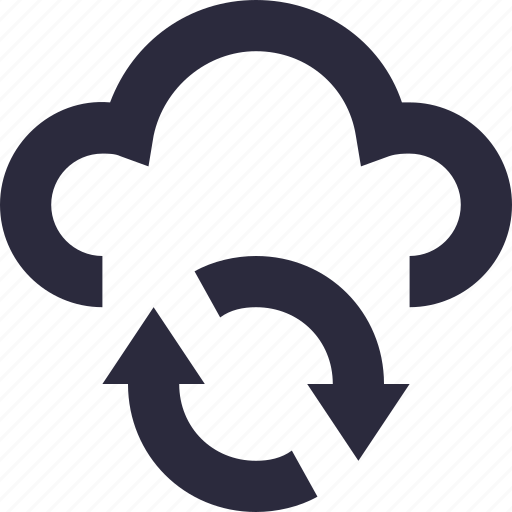 cloud computing, cloud refresh, cloud reload, cloud sync, refresh icon