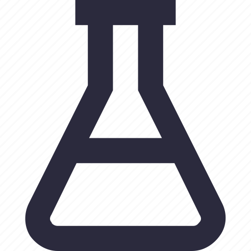 experiment, flask, lab flask, laboratory, research icon